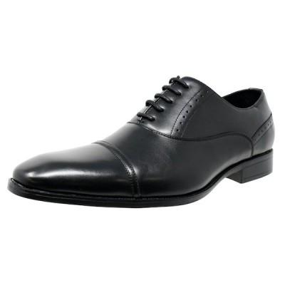 [送料無料]  ビジネスシューズ 内羽根 ストレートチップ 紳士靴 軽量 撥水 LB208