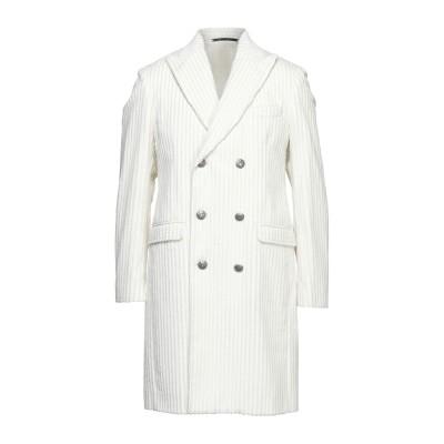 アレッサンドロデラクア ALESSANDRO DELL'ACQUA コート ホワイト 52 コットン 100% コート