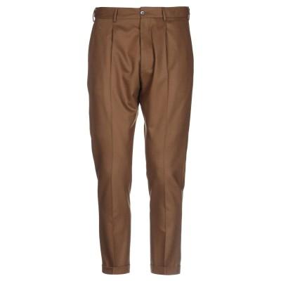 PT Torino パンツ ブラウン 54 バージンウール 98% / ポリウレタン 2% パンツ