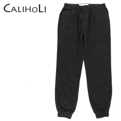 カリホリ CaliHoli ジョガーチノパンツ メンズ コットン ウエストゴム 裾リブ CAA7206
