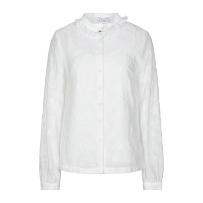 SUNCOO シャツ ホワイト 2 ポリエステル 100% / レーヨン シャツ