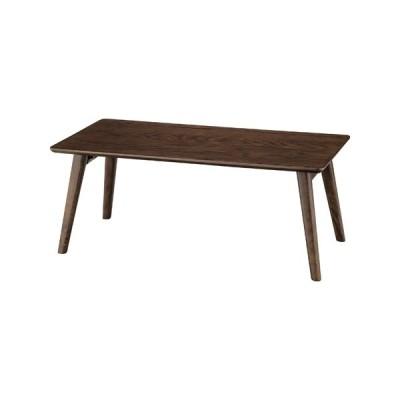 東谷 フォールディングテーブル 幅90cm NET-832BR 返品種別A