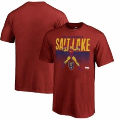 Fanatics Branded ファナティクス ブランド スポーツ用品  Fanatics Branded Real Salt Lake Youth Cardinal MLS Marvel Iron Man Invinc