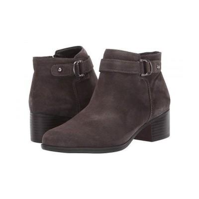 Naturalizer ナチュラライザー レディース 女性用 シューズ 靴 ブーツ アンクルブーツ ショート Drewe - Taupe Suede