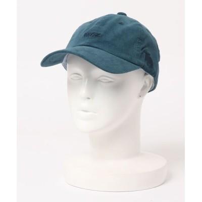 THE MORNING AFTER / [ MOZ / モズ ] MOZコーデュロイ 1Point 刺繍 ロゴ  ロー キャップ WOMEN 帽子 > キャップ