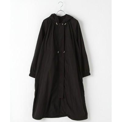 MARcourt/マーコート MIDIUMISOLID for Ladies ロングワイドパーカーコート black FREE