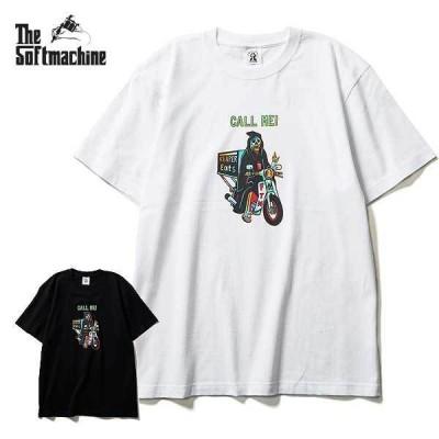 2021 夏 先行予約 7月から8月入荷予定 SOFTMACHINE ソフトマシーン 半袖 Tシャツ tシャツ REAPER EATS T T SHIRTS メンズ おしゃれ