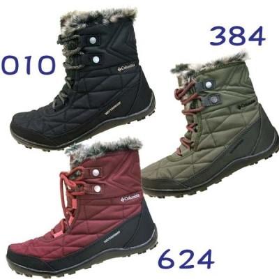 [34%OFF] コロンビア Columbia Minx Shorty III 5961 010 384 624 ミンクス ショーティー 3 防寒 防水 ショートブーツ レディース