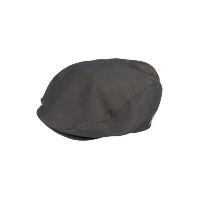 ボルサリーノ BORSALINO 帽子 ダークブラウン 60 ポリエステル 100% 帽子
