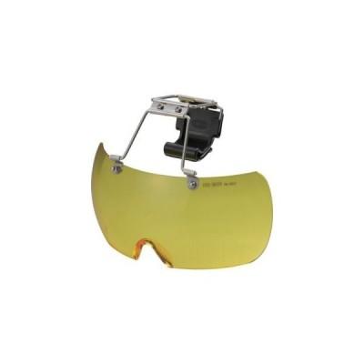 トーヨーセフティ ヘルメット取付用メガネ イエロー NO.1400-Y