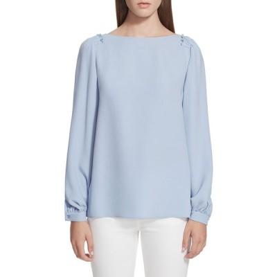 ラファイエットワンフォーエイト レディース シャツ トップス Albright Long-Sleeve Silk Double Georgette Blouse