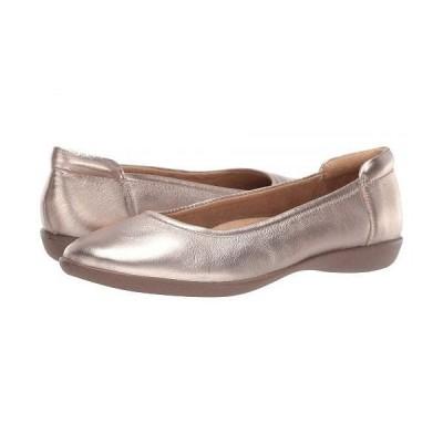 Naturalizer ナチュラライザー レディース 女性用 シューズ 靴 フラット Flexy - Light Bronze
