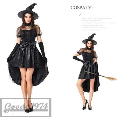 コスプレ 衣装 妖精 巫女 仮装 ゾンビ Halloween ウィッチ ヴァンパイア 吸血鬼 魔女 悪魔 巫女 衣装 コスチューム D0051