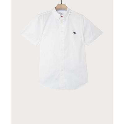 ポールスミス シャツ トップス メンズ Men's Tailored Fit Zebra Badge Shirt White