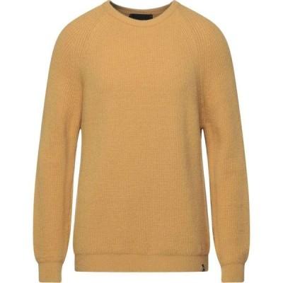 オフィチーナ トレンタ セイ OFFICINA 36 メンズ ニット・セーター トップス Sweater Ocher