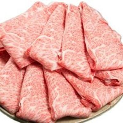三重県産和牛メスまと場牛薄切りスライス肉 (750g)
