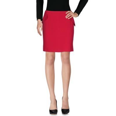エンポリオ アルマーニ EMPORIO ARMANI ひざ丈スカート ガーネット 40 アセテート 73% / レーヨン 27% ひざ丈スカート
