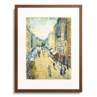 マクシミリアン・リュス Maximilien Luce 「A Street in Abbesses. Ca. 1895」