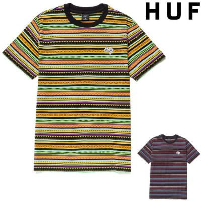 HUF TOPANGA S/S KNIT TOP ハフ Tシャツ 半袖T T-SHIRT スケート
