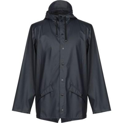 レインズ RAINS メンズ コート アウター full-length jacket Dark blue