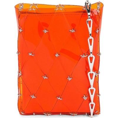 パコラバンヌ PACO RABANNE レディース ショルダーバッグ バッグ sac porte epaul diamond crossbody bag Orange