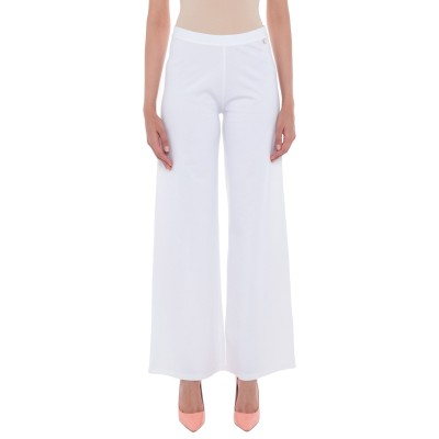 ジャスト・フォー・ユー JUST FOR YOU パンツ ホワイト XS レーヨン 67% / ナイロン 29% / ポリウレタン 4% パンツ
