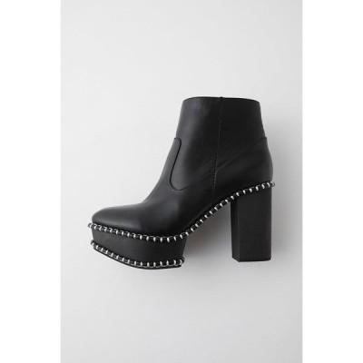 ブーツ WOOD SOLE ブーツ