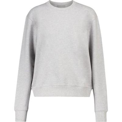 ワードローブ ニューヨーク WARDROBE.NYC レディース スウェット・トレーナー トップス release 02 cotton sweatshirt Grey Marl