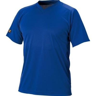 ゼット ヤキュウソフト ベースボールVネックTシャツ メンズ 20SS ロイヤルブルー Tシャツ(bot635-2500)