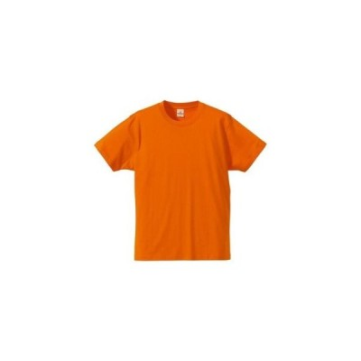 ds-1646148 Tシャツ CB5806 オレンジ XSサイズ 【 5枚セット 】  (ds1646148)