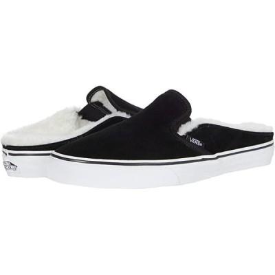 バンズ Classic Slip-On Mule メンズ スニーカー 靴 シューズ (Suede)Black Sherpa