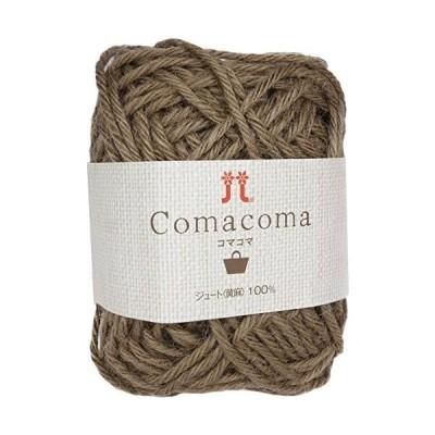 ハマナカ-コマコマ-col-15-ブラウン-5玉セット