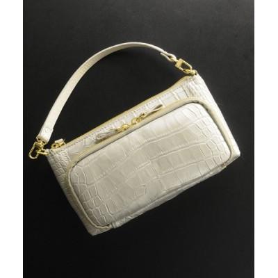 三京商会 / クロコダイルレザーお財布ショルダーバッグ WOMEN バッグ > ショルダーバッグ
