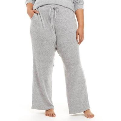 オリーブアンドオーク レディース カジュアルパンツ ボトムス Plus Size Ribbed Hacci Pants