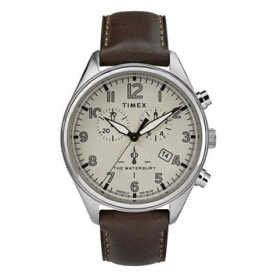 タイメックス 腕時計 メンズ 大人 コーデ カジュアル 父 息子 彼氏 プレゼント ブラウン レザー 並行輸入