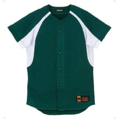 デサント(DESCENTE) ジュニア コンビネーションシャツ Dグリーン JDB48M-DGRN 野球 トレーニングウェアー