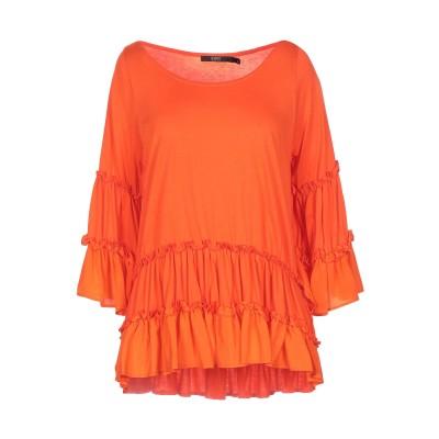 SEVENTY SERGIO TEGON T シャツ オレンジ 42 テンセル 67% / コットン 33% / シルク T シャツ