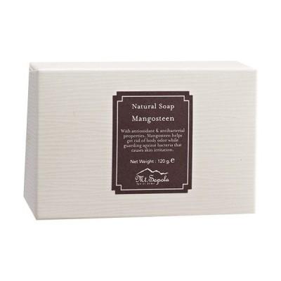 Mt.Sapola マウントサポラ ナチュラル石鹸 120g マンゴスチン 日本未発売 [並行輸入品]