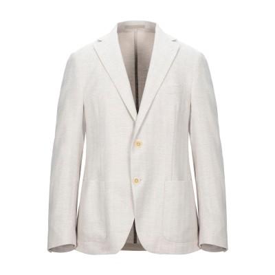 イレブンティ ELEVENTY テーラードジャケット ベージュ 50 コットン 84% / レーヨン 16% テーラードジャケット