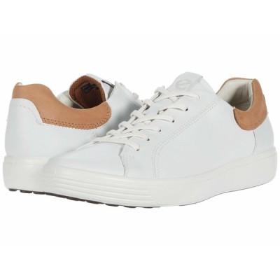 エコー スニーカー シューズ メンズ Soft 7 Street Sneaker White/Cashmere