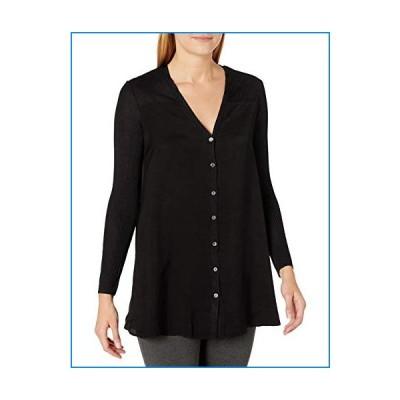NIC+ZOE Women's Sweater, Black Onyx, Extra Large【並行輸入品】