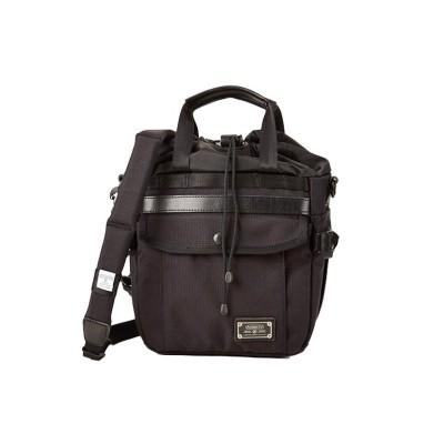 【カバンのセレクション】 アッソブ エクスクルーシブ 巾着 ショルダーバッグ バリスティックナイロン AS2OV 061326 ユニセックス ブラック フリー Bag&Luggage SELECTION