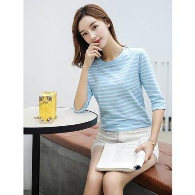 大きいサイズM-3XL ファッション/人気Tシャツ ブルー/ホワイト/カーキ3色展開