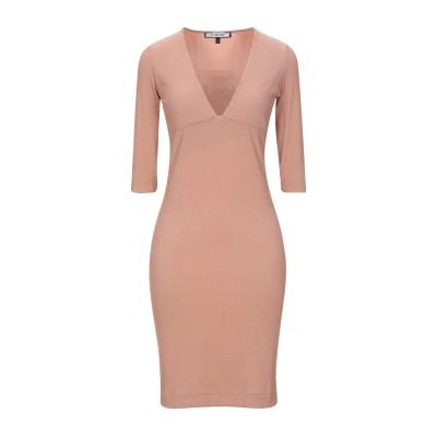 FISICO ミニワンピース&ドレス ローズピンク S ナイロン 80% / ポリウレタン 15% / ポリエステル 5% ミニワンピース&ドレス