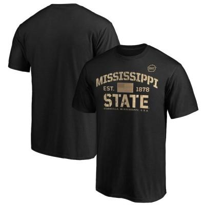 """ファナティックス メンズ Tシャツ """"Mississippi State Bulldogs"""" Fanatics Branded OHT Military Appreciation Boot Camp T-Shirt - Black"""