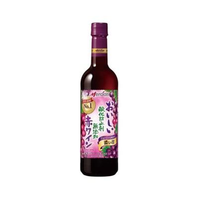 メルシャン おいしい酸化防止剤無添加ワイン ジューシー赤 720ml ペット