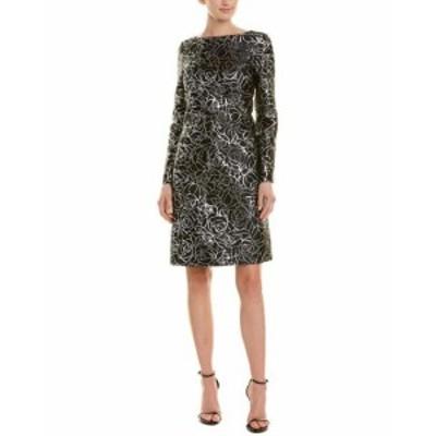 Michael Kors マイケルコルス ファッション ドレス Michael Kors Collection Silk-Blend Shift Dress 0