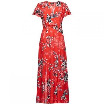 フレンチコネクション French Connection レディース ワンピース ミドル丈 ワンピース・ドレス Coletta Midi Tea Dress Flame