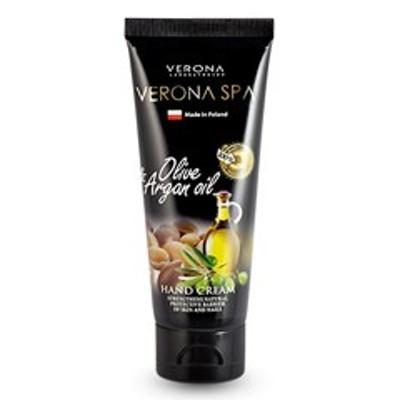 【ヴェローナ ハンドクリーム】VERONA ヴェローナ スパ ハンドクリーム オリーブ&アルガンオイル 75ml 化粧品 コスメ