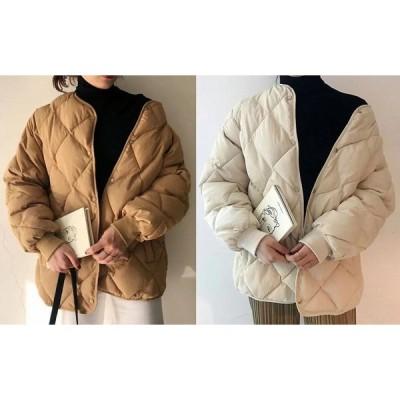 全2色 コート 厚手 体型カバー 着痩せ 切り替え 無地 シンプル